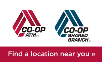 Co-Op ATM and Shared Branch Locator